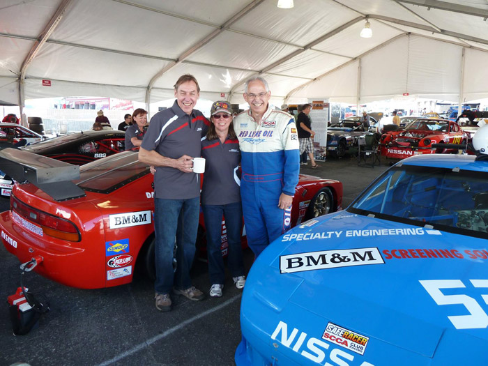 Colin Jackson driver SCCA national runoffs champion, Andy Pearson builder Specialty Engineering