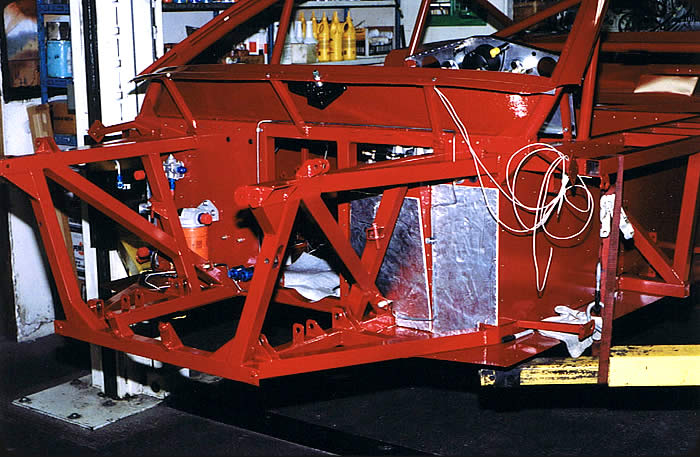 custom race car chassis panel assembly picture 2